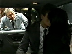 Mr. Atkinson, Adam Willis, Caroline Alessi in Neighbours Episode 1306