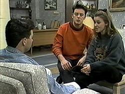 Aidan Devlin, Matt Robinson, Gemma Ramsay in Neighbours Episode 1306