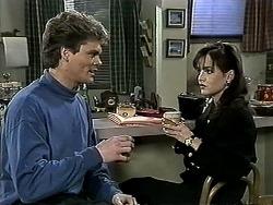 Adam Willis, Caroline Alessi in Neighbours Episode 1306