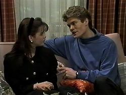 Caroline Alessi, Adam Willis in Neighbours Episode 1307