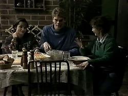 Caroline Alessi, Adam Willis, Pam Willis in Neighbours Episode 1307