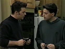 Matt Robinson, Aidan Devlin in Neighbours Episode 1307