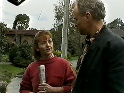 Pam Willis, Jim Robinson in Neighbours Episode 1307
