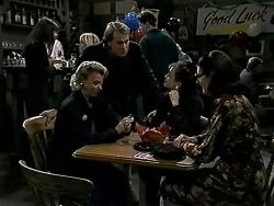 Helen Daniels, Doug Harris, Christina Alessi, Dorothy Burke in Neighbours Episode 1309