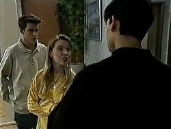 Todd Landers, Melissa Jarrett, Josh Anderson in Neighbours Episode 1309