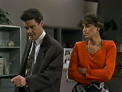 Paul Robinson, Isabella Lopez in Neighbours Episode 1309