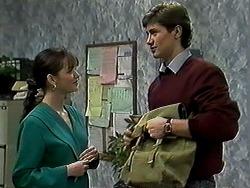 Caroline Alessi, Ryan McLachlan in Neighbours Episode 1310