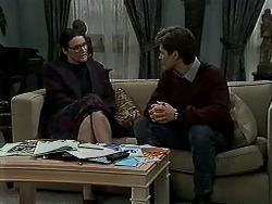 Dorothy Burke, Ryan McLachlan in Neighbours Episode 1310