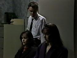 Caroline Alessi, Paul Robinson, Christina Alessi in Neighbours Episode 1311