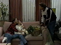 Todd Landers, Cody Willis, Doug Willis in Neighbours Episode 1312
