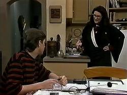 Ryan McLachlan, Dorothy Burke in Neighbours Episode 1312
