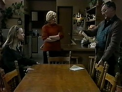 Gemma Ramsay, Madge Bishop, Harold Bishop in Neighbours Episode 1313