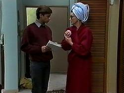 Ryan McLachlan, Dorothy Burke in Neighbours Episode 1313