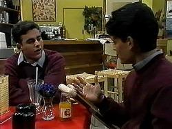 Justin Freedman, Josh Anderson in Neighbours Episode 1313