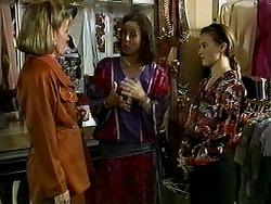 Felicity Brent, Mrs. Featherstone, Gemma Ramsay in Neighbours Episode 1313