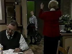 Harold Bishop, Gemma Ramsay, Madge Bishop in Neighbours Episode 1314