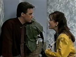 Paul Robinson, Caroline Alessi in Neighbours Episode 1314