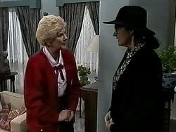 Madge Bishop, Dorothy Burke in Neighbours Episode 1314