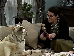 Bouncer, Dorothy Burke in Neighbours Episode 1314