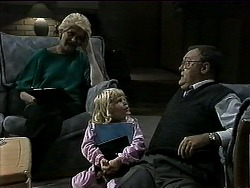 Madge Bishop, Sky Mangel, Harold Bishop in Neighbours Episode 1315
