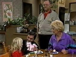 Sky Mangel, Ian, Harold Bishop, Madge Bishop in Neighbours Episode 1315
