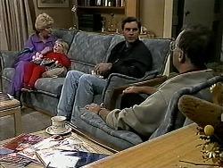 Madge Bishop, Sky Mangel, Eric Jensen, Harold Bishop in Neighbours Episode 1315