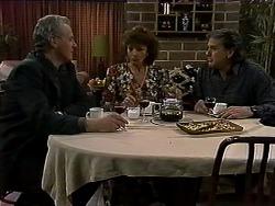 Jim Robinson, Pam Willis, Doug Willis in Neighbours Episode 1316