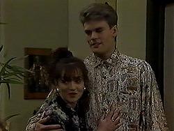 Adam Willis, Caroline Alessi in Neighbours Episode 1316