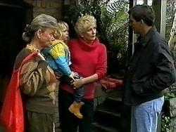 Helen Daniels, Sky Mangel, Madge Bishop, Eric Jensen in Neighbours Episode 1316