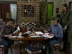 Pam Willis, Adam Willis, Doug Willis in Neighbours Episode 1316