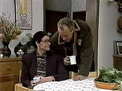 Dorothy Burke, Jim Robinson in Neighbours Episode 1317