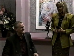 Jim Robinson, Geraldine Ogilvy in Neighbours Episode 1317