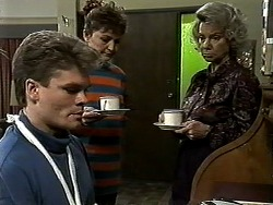 Adam Willis, Pam Willis, Helen Daniels in Neighbours Episode 1317