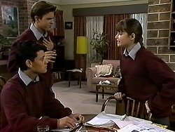 Josh Anderson, Todd Landers, Cody Willis in Neighbours Episode 1318