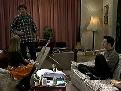 Melanie Pearson, Joe Mangel, Matt Robinson in Neighbours Episode 1318
