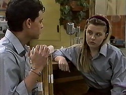 Josh Anderson, Melissa Jarrett in Neighbours Episode 1318