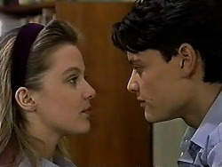 Melissa Jarrett, Josh Anderson in Neighbours Episode 1318