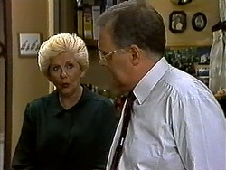 Madge Bishop, Harold Bishop in Neighbours Episode 1318