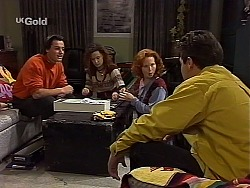 Sam Kratz, Cody Willis, Ren Gottlieb, Mark Gottlieb in Neighbours Episode 2226