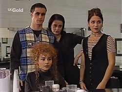 Kim Roth, Debbie Martin, Nadine, Vanessa in Neighbours Episode 2226