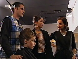 Kim Roth, Debbie Martin, Vanessa, Nadine in Neighbours Episode 2226