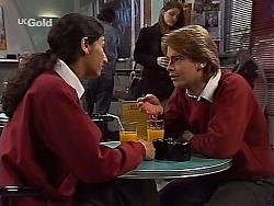 Lata Chatterji, Brett Stark in Neighbours Episode 2228