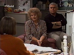 Anne Teschendorff, Cheryl Stark, Lou Carpenter in Neighbours Episode 2228