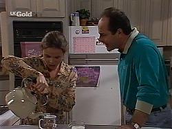 Julie Robinson, Philip Martin in Neighbours Episode 2228