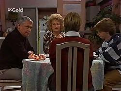 Lou Carpenter, Cheryl Stark, Danni Stark, Brett Stark in Neighbours Episode 2228
