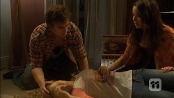 Kyle Canning, Georgia Brooks, Kate Ramsay in Neighbours Episode 6791