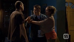 Toadie Rebecchi, Callum Jones, Sonya Mitchell in Neighbours Episode 6792