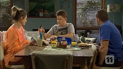 Sonya Mitchell, Callum Jones, Toadie Rebecchi in Neighbours Episode 6792