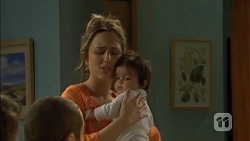 Sonya Mitchell, Elliott Holmes in Neighbours Episode 6792