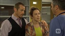 Toadie Rebecchi, Sonya Mitchell, Karl Kennedy in Neighbours Episode 6793